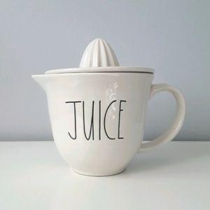 NWT Rae Dunn ceramic juicer JUICE
